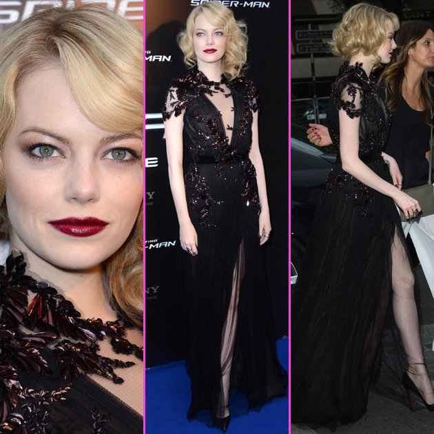 emma stone paris premiere