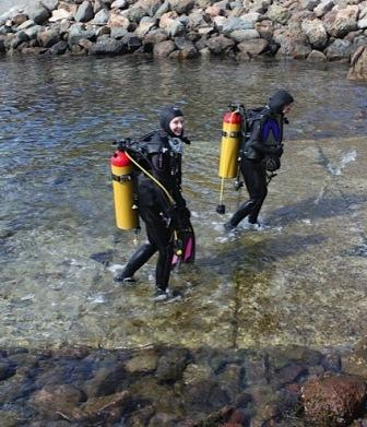 USC Dornsife Scientific Diving: A New Faculty Member on the Team