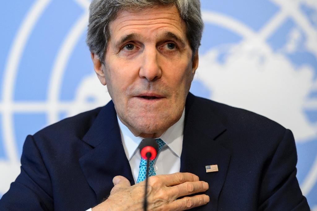 Kerry in staunch defence of Israel at UN rights council