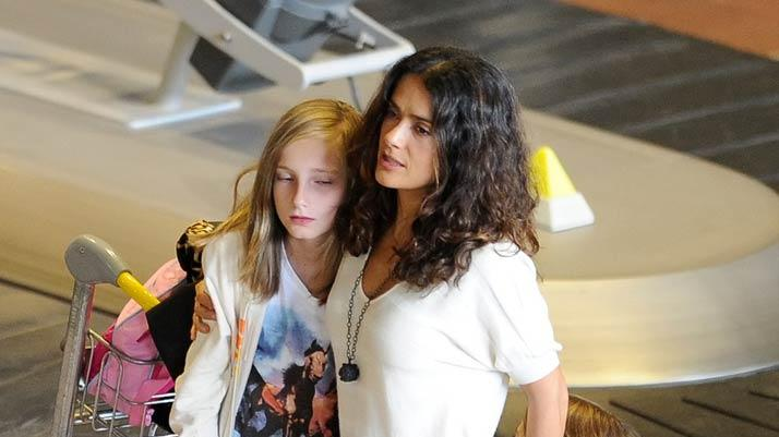 Salma Hayek Shopping France