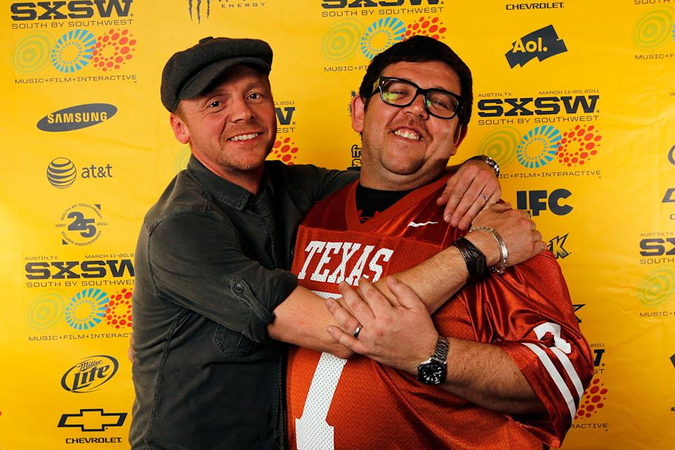 2011 SXSW Music and Film Festival Simon Pegg Nick Frost