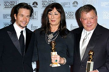 Mark Wahlberg, Anjelica Huston and William Shatner