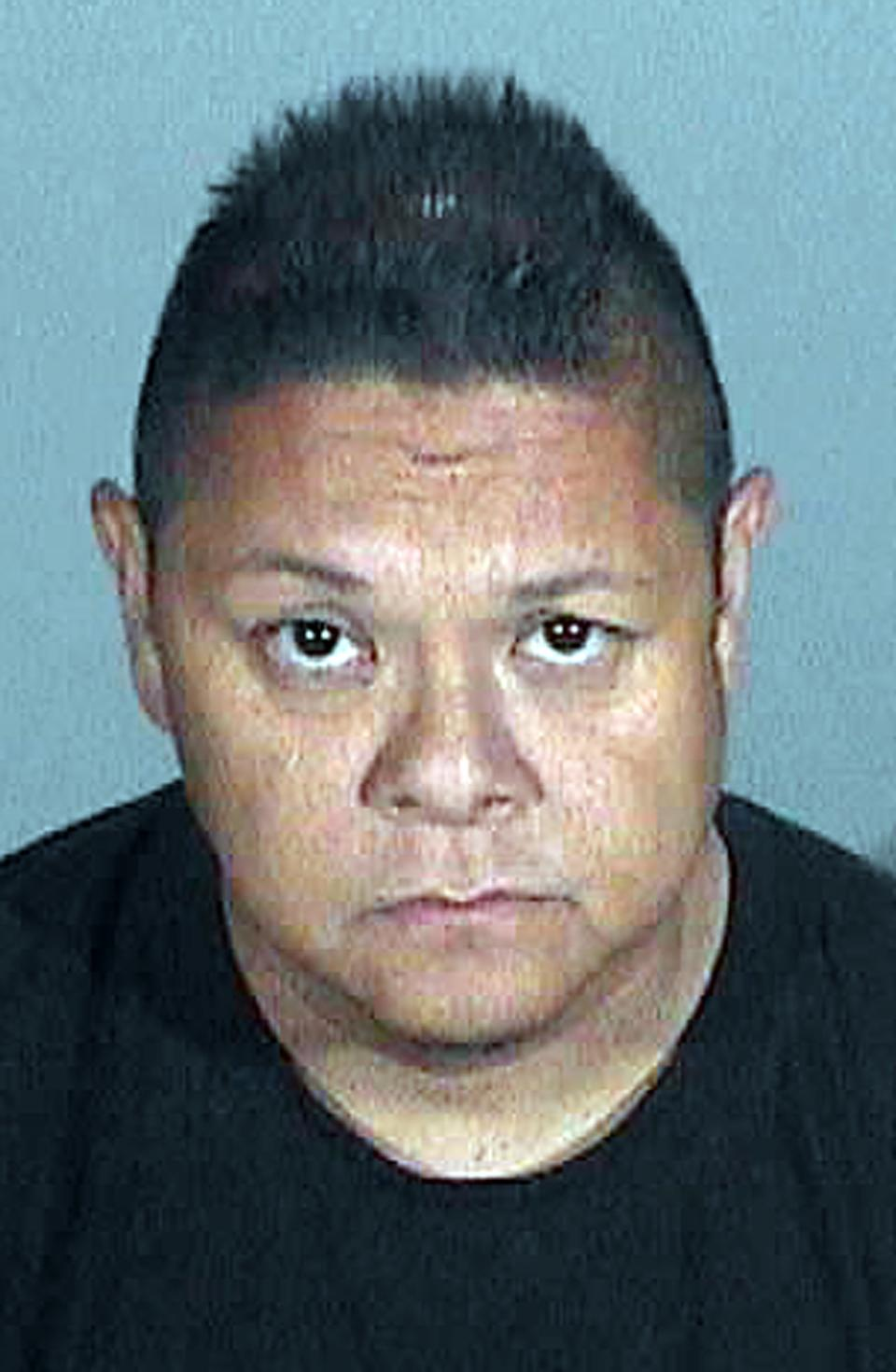 This photo provided by the Santa Monica Police Department shows suspect Jay Nieto who was arrested Sept. 26, 2012 in Santa Monica, Calif., on suspicion of stealing paintings from the home of a Santa Monica financier. (AP Photo/Santa Monica Police Dept.)