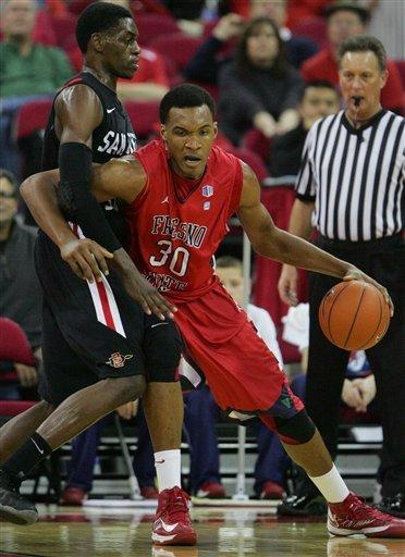 Franklin helps No. 16 San Diego St beat Fresno St