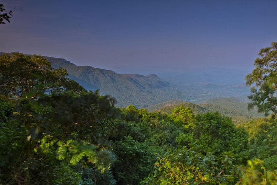 View of Agumbe Western Ghats