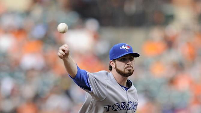Hutchison pitches Blue Jays past Orioles 4-0