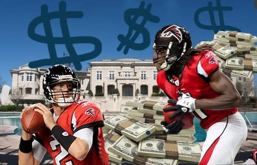 In Context: NFL Contracts : How Much Atlanta Real Estate Could Your Falcons Buy?