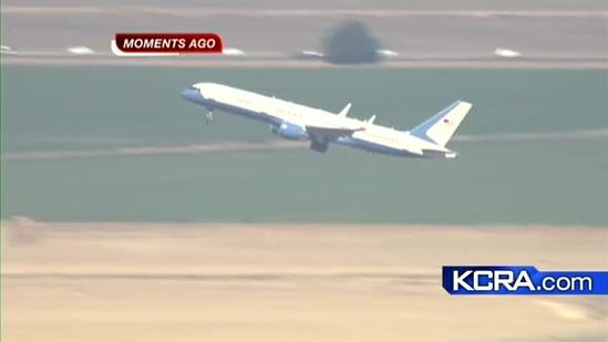 Vice President stops in Sacramento on campaign swing