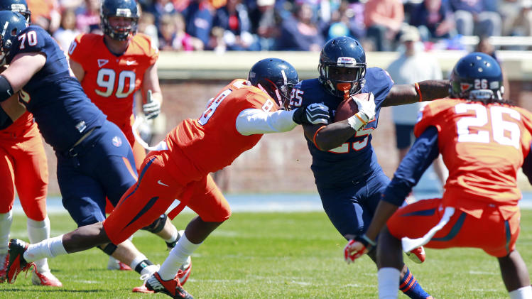 NCAA Football: Virginia-Spring Game