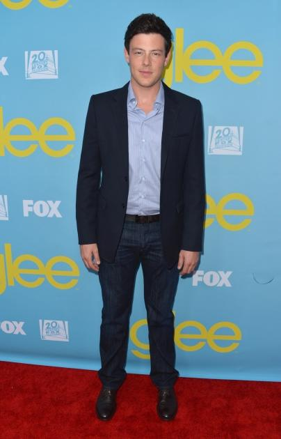 """Cory Monteith attends the Academy of Television Arts and Sciences' screening of """"Glee"""" on May  1, 2012 -- Getty Images"""