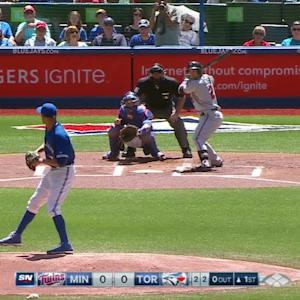 Price's first Blue Jays K