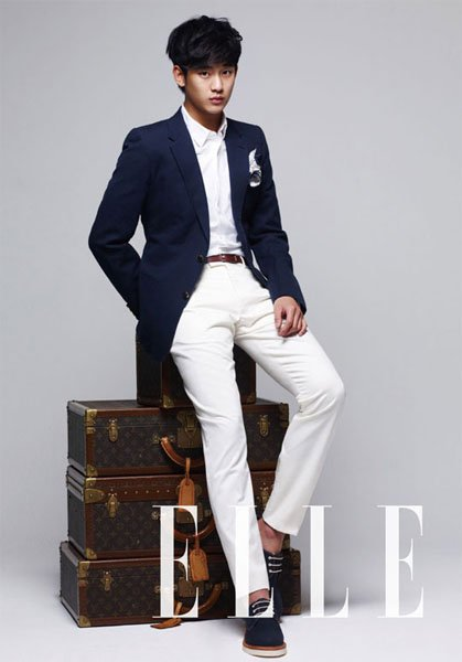 Kim Soo Hyun is a Family Guy for 'Elle'