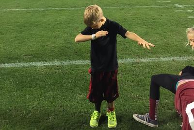 Lane Kiffin's son dabbed on Cam Newton's Auburn