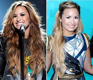Demi Lovato Goes Blonde for X Factor Announcement