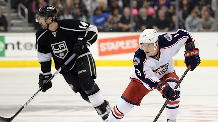 NHL: Columbus Blue Jackets at Los Angeles Kings