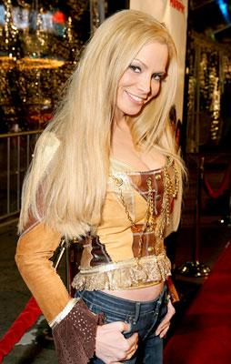 Cindy Margolis at the Los Angeles premiere of DreamWorks Pictures' Norbit