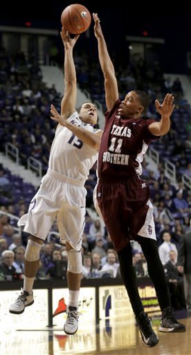 Kansas State holds off Texas Southern 78-69