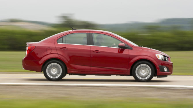 GM recalling Chevrolet Sonics to check brake pads