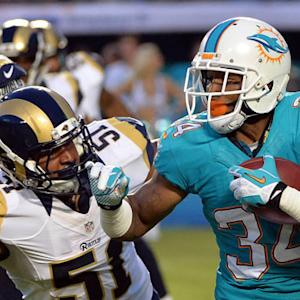 St. Louis Rams vs. Miami Dolphins preseason highlights