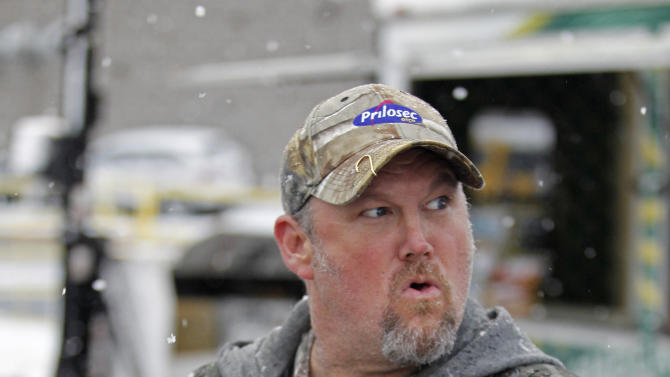 Frequent heartburn sufferer and comedian Larry the Cable Guy  tailgates with fans in Green Bay to promote new Prilosec OTC Wildberry and encourage fans to enter the Wild American Flavor Sweepstakes at www.wildberryflavor.com, on Sunday, Dec. 9, 2012 in Green Bay, Wis. (Photo by Matt Ludtke/Invision for Prilosec OTC/AP Images)