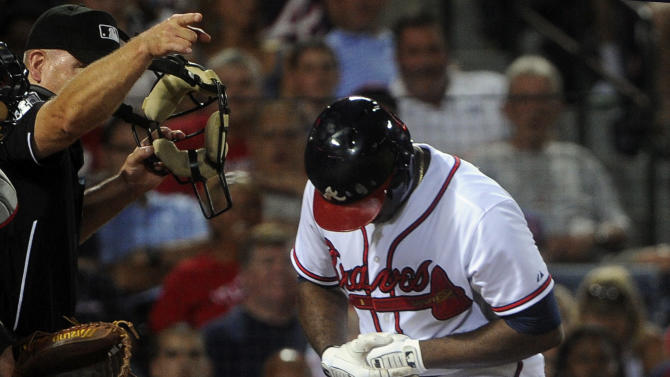 Medlen, McCann lead Braves past Indians 3-1