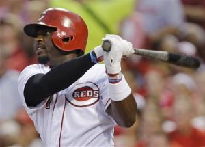 Phillips drives in 3, Reds beat Pirates 5-3