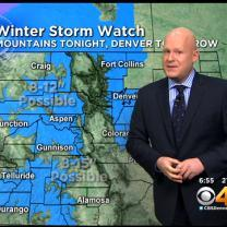 Wednesday AM Forecast: Winter Storm Watch For Denver & The Mountains