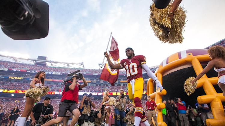 Redskins' RG3 looking for 'more routine' Week 2