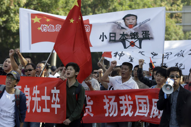 More Anti-Japan Protests In China Over Islands