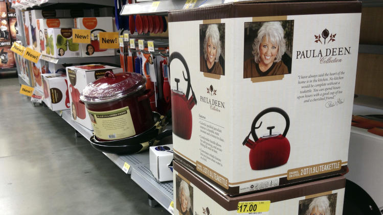 Walmart stores still stocking Paula Deen items
