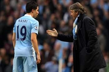 Nasri dismisses Mancini criticism