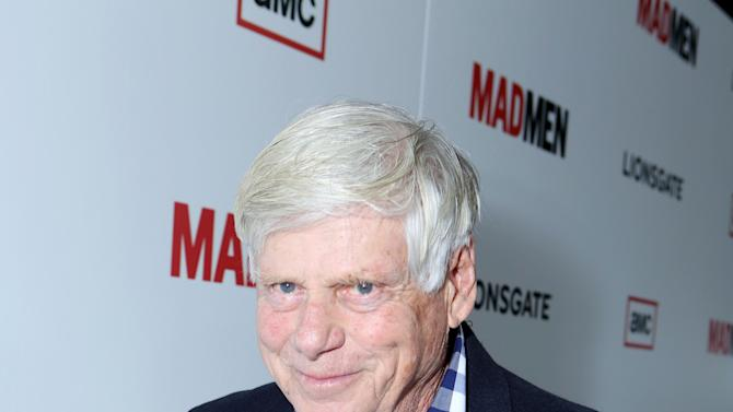Robert Morse at the AMC Season 6 Premiere of Mad Men , on Wednesday, March, 20, 2013 in Los Angeles. (Photo by Alexandra Wyman/Invision for AMC/AP Images)