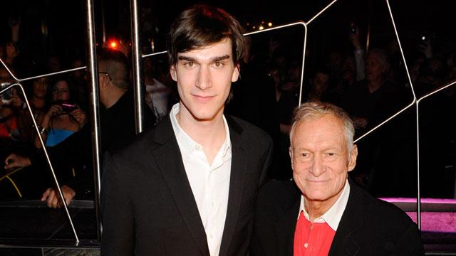 Hugh Hefner 'Disappointed' in Son's Behavior