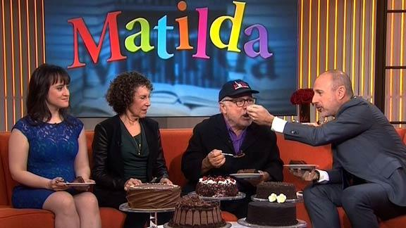 Danny DeVito Silenced With Cake