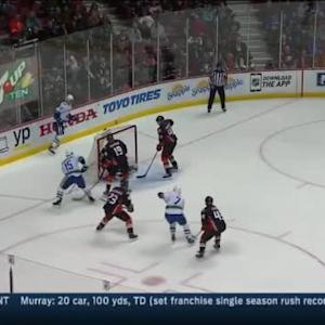 Frederik Andersen Save on Brad Richardson (07:18/1st)