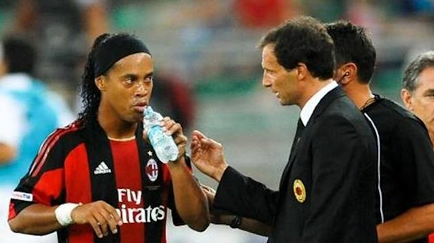 Ronaldinho and Allegri