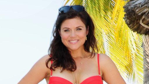 Tiffani Thiessen's Swimsuit Pics