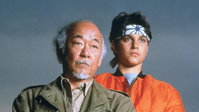 The Karate Kid Part III 1989 Pat Morita Ralph Macchio