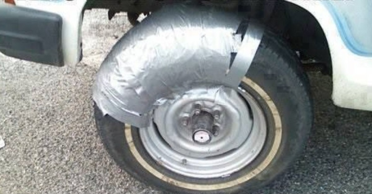 14 Terrible Tire Fails