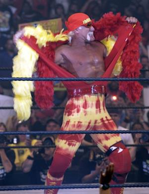 Hulk Hogan circa 2005, before he became too familiar with courtrooms.