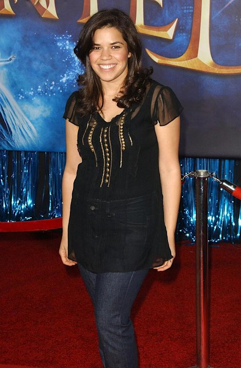 "America Ferrera at the premiere of ""Enchanted"" in Hollywood - 11/17/2007"