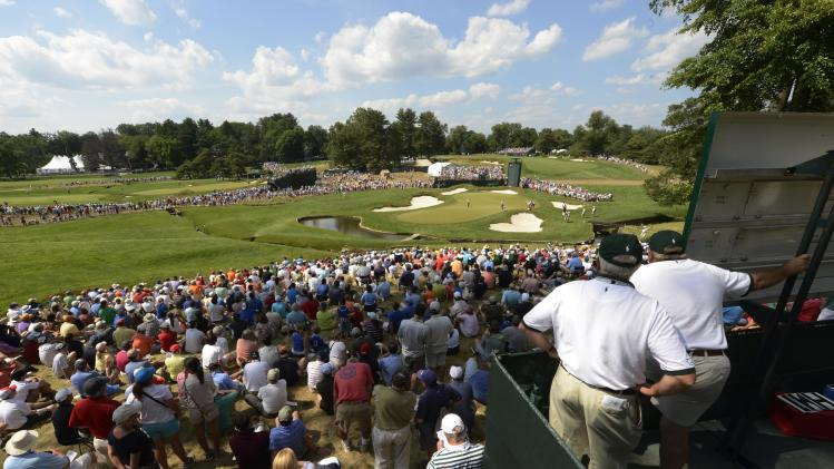 Golf: U.S. Open-Third Round