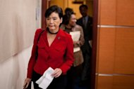 The House of Representatives unanimously passed a resolution on Monday decrying a law -- more than a century old -- that prevented Chinese people from immigrating to the United States. Rep. Judy Chu (D-CA), pictured in 2011, proposed the legislation and reached an agreement with the rival Republican Party to bring the resolution to a vote today