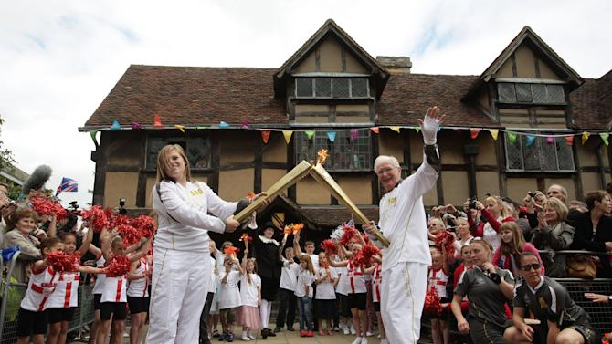 Day 44 - The Olympic Torch Continues Its Journey Around The UK