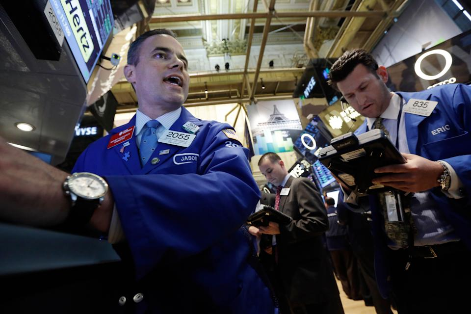 US stocks fall in quiet end to a bumpy month