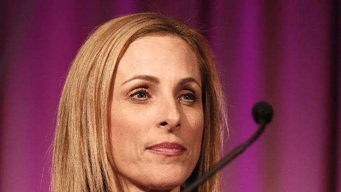 Marlee Matlin is seen at the Visionary Awards benefiting the Entertainment AIDS Alliance, on Wednesday, Nov. 14, 2012 in Los Angeles. (Photo by Todd Williamson/Invision for the Entertainment AIDS Alliance/AP Images)
