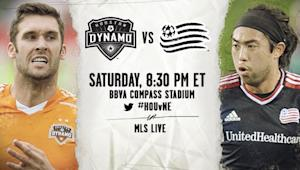 Houston Dynamo vs. New England Revolution | MLS Match Preview