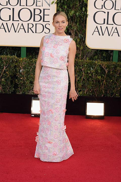 70th Annual Golden Globe Awards - Arrivals: Sienna Miller