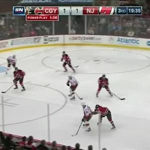 Flames at Devils / Game Highlights