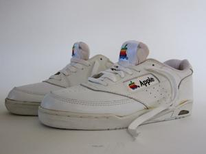 Command-A(ttention) With These Vintage Apple Shoes
